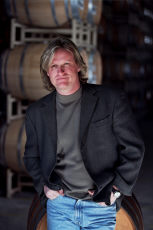 Adam Lazarre, photo from Villa San Juliette Vineyards