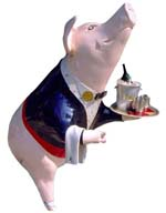 Maisownette Pig from the Cincinnati Big Pig Gig, 2000