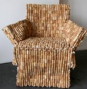 Recycledcorkchair